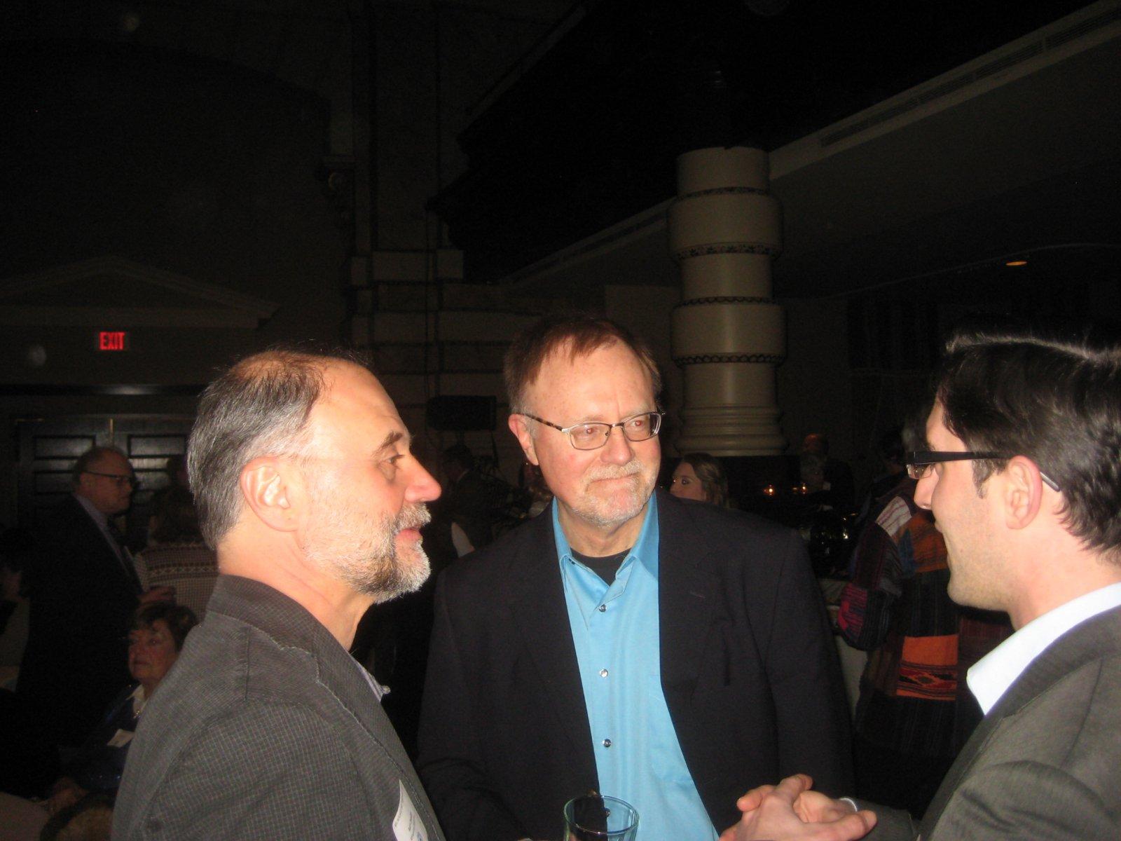 Kurt Chandler, Bruce Murphy, and Jim Tarantino.