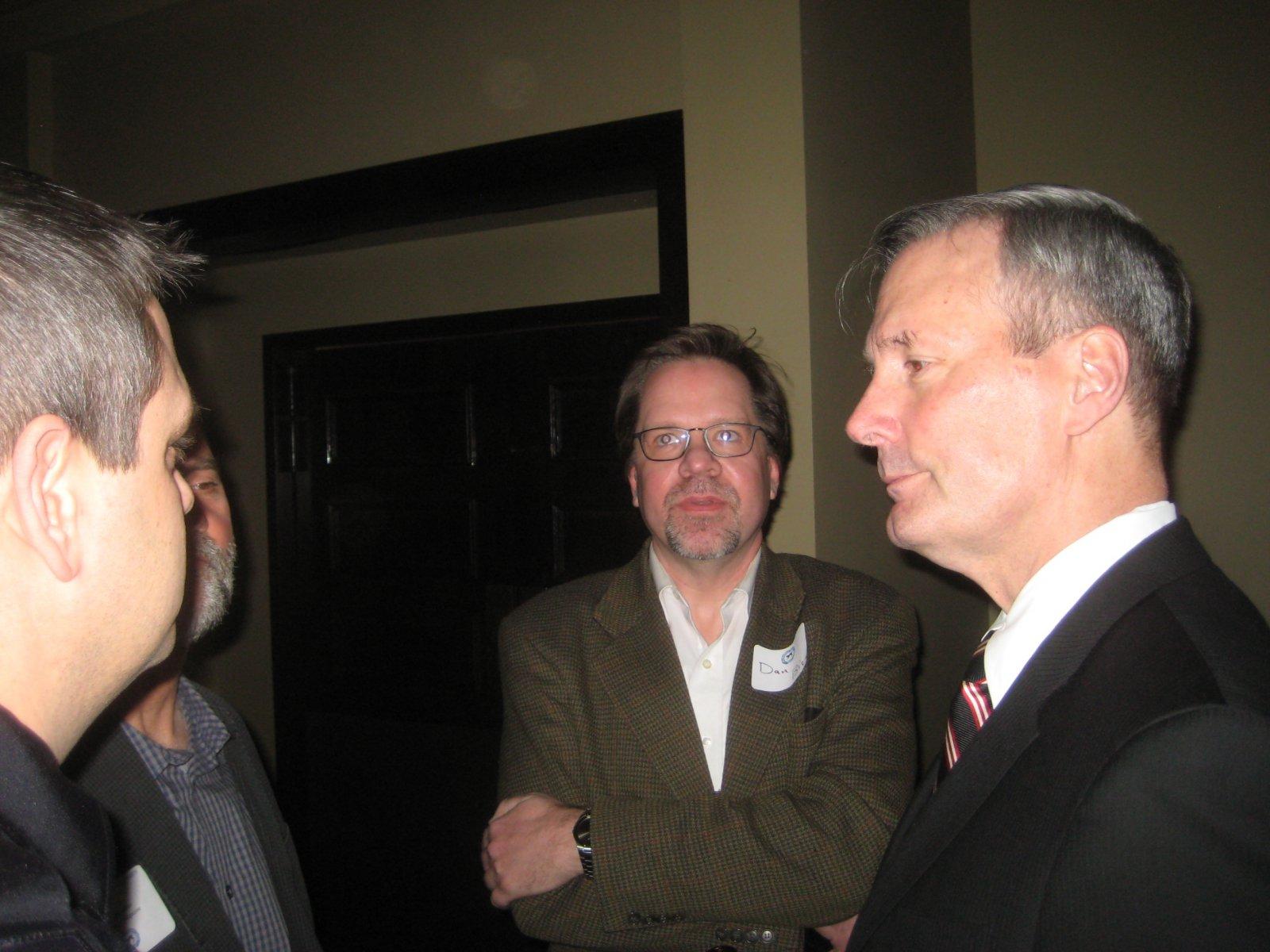 Dan Bice and Chief Ed Flynn