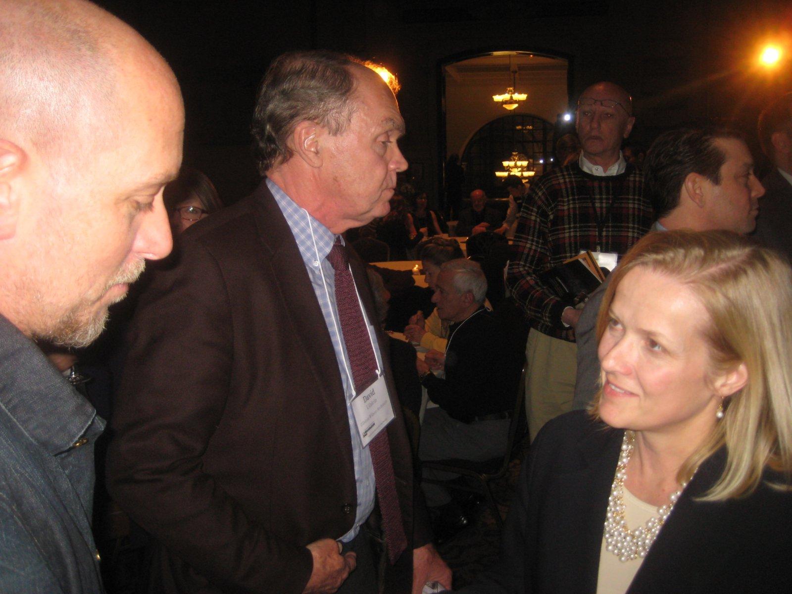 Gary Witt, David Uihlein, and Stephanie Meeks