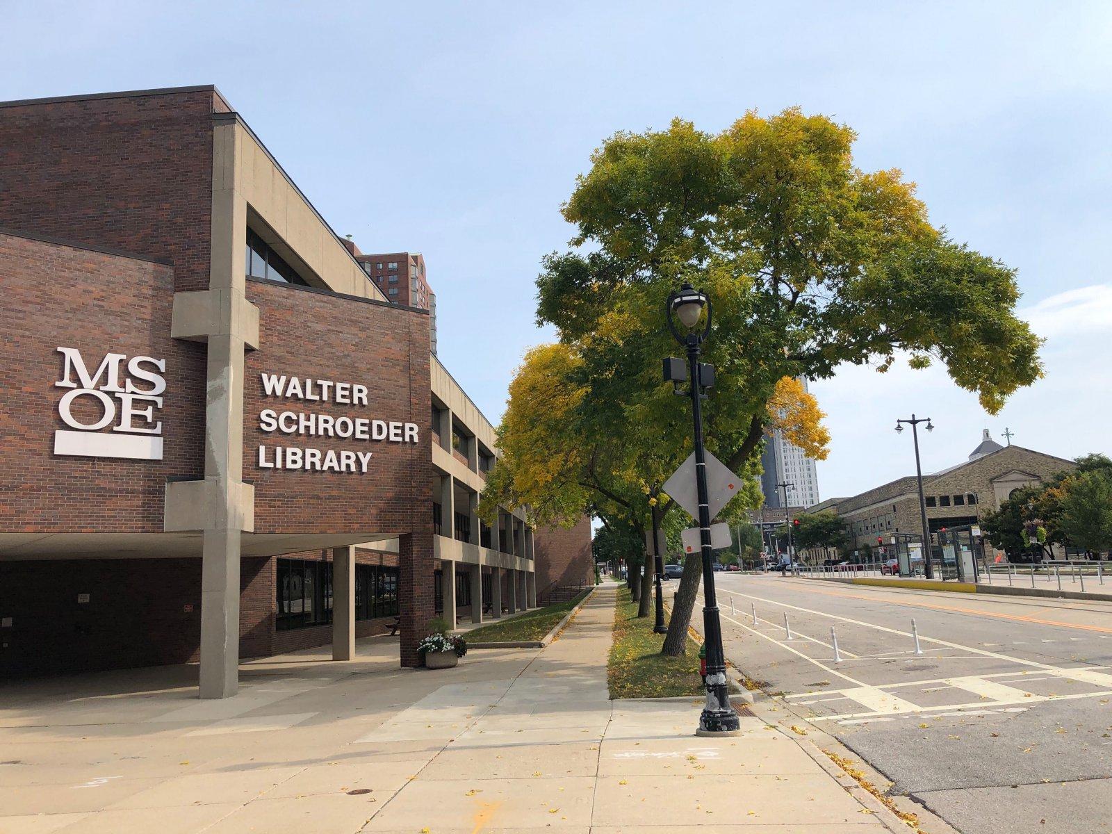 Walter Schroeder Library, 500 E. Kilbourn Ave.