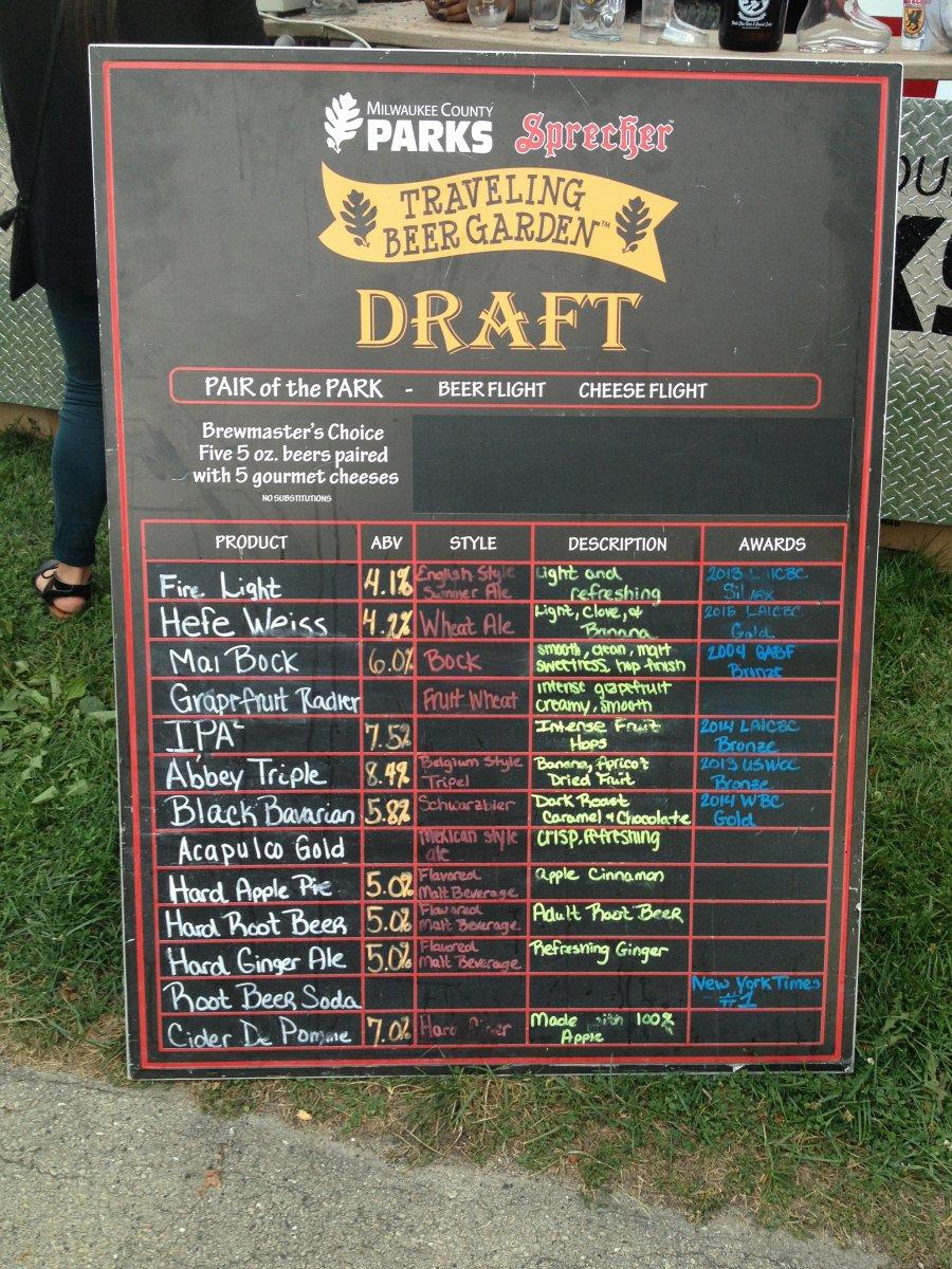 Traveling Beer Garden