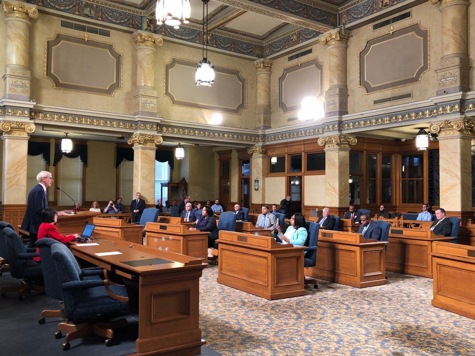 Governor-elect Tony Evers
