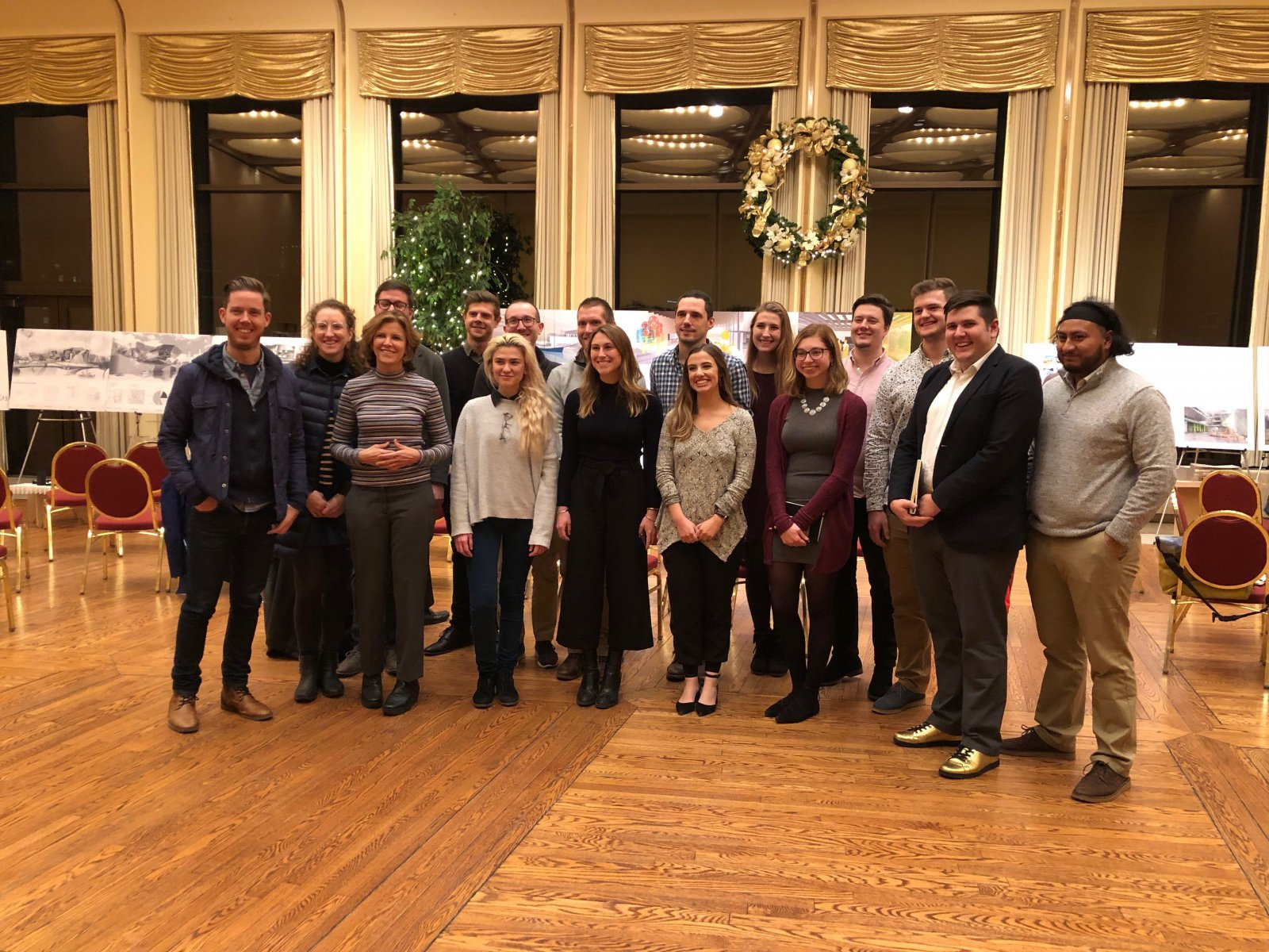 Jeanne Gang and UWM Students