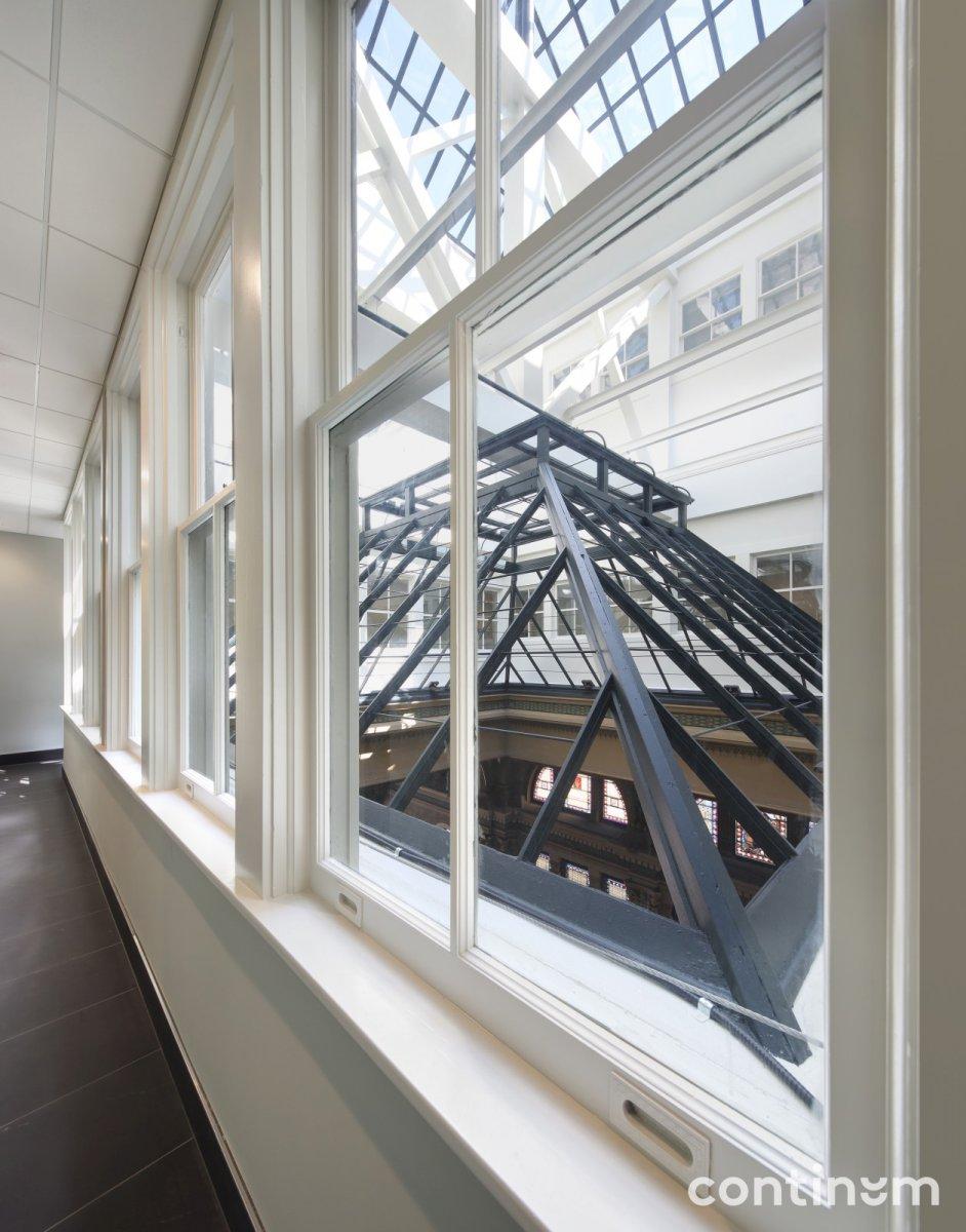 View of Skylight in Mackie Building