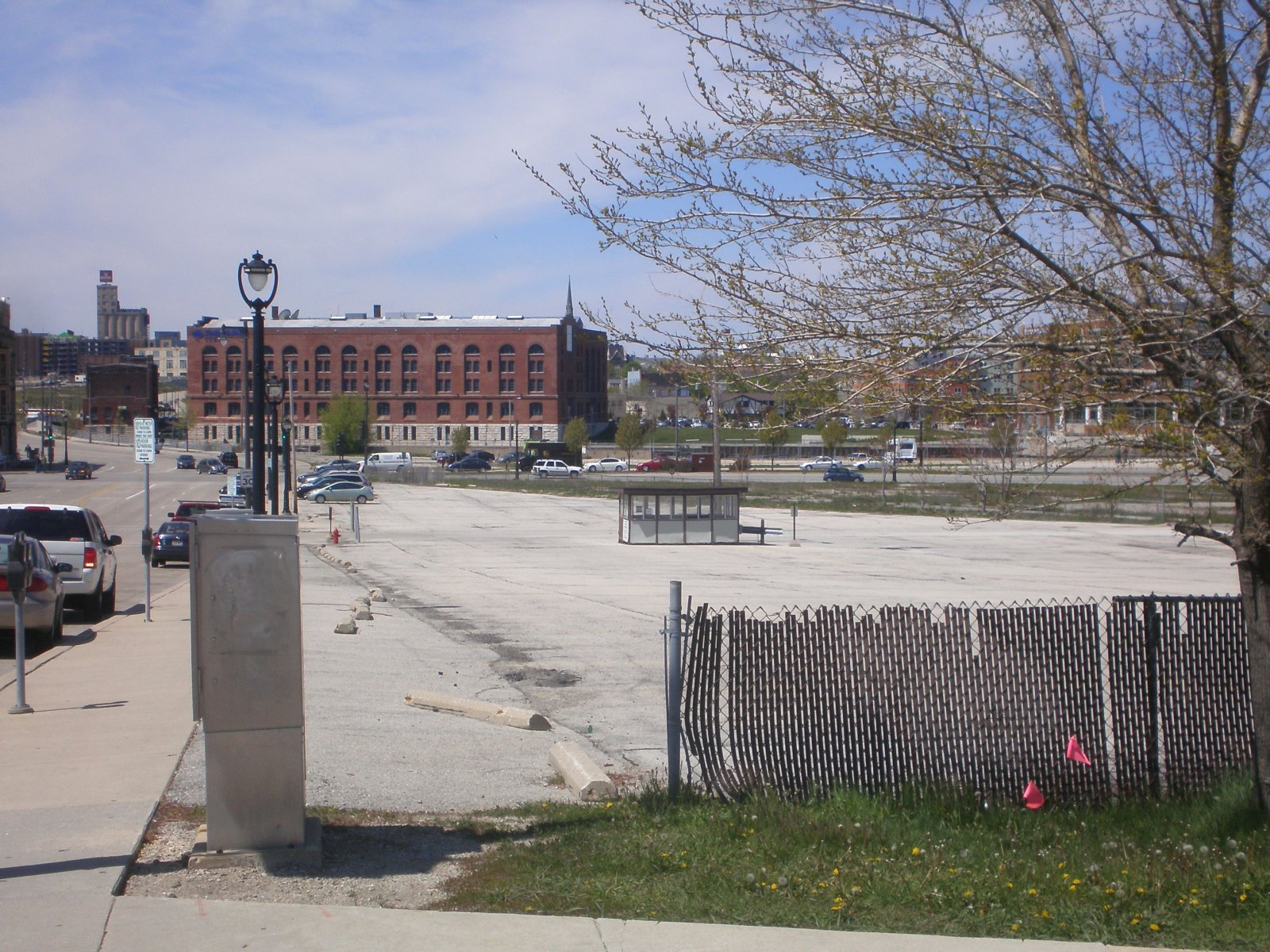 The future site of the MSOE Athletic Field and Parking Complex.