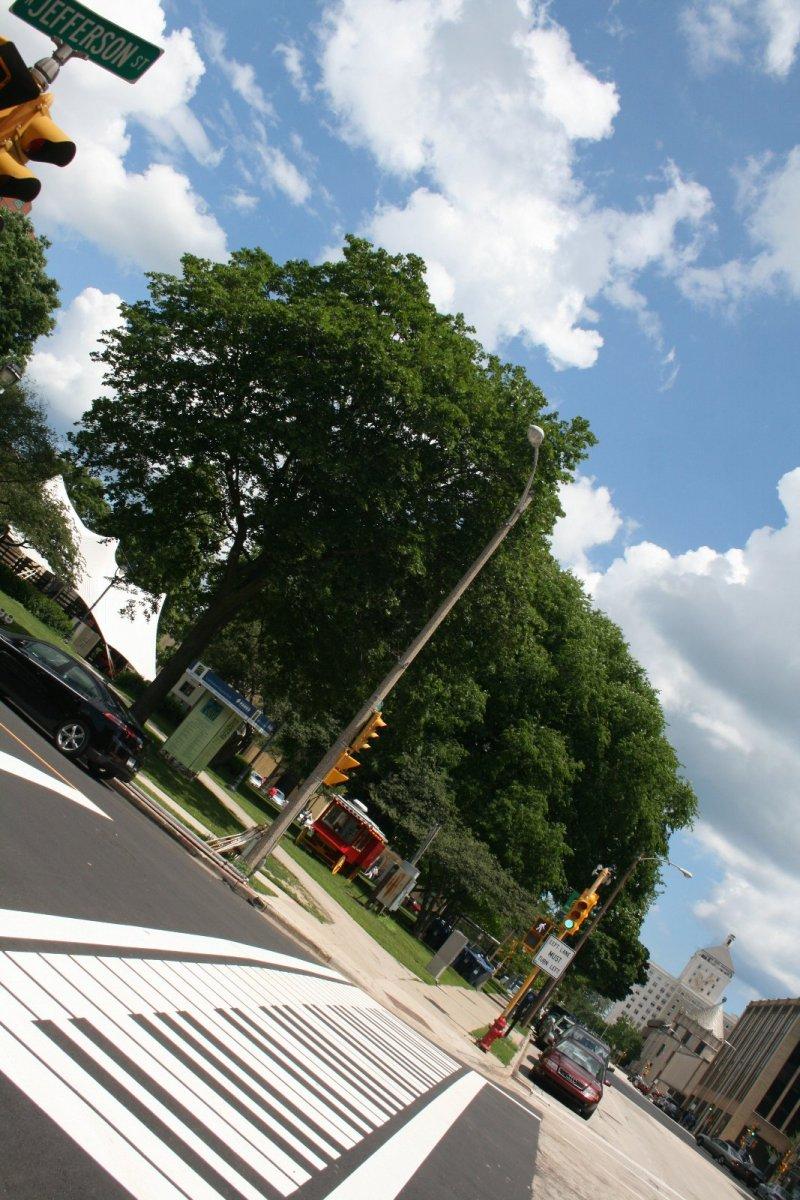 Jefferson St. and Mason St. Whimsy Walk.