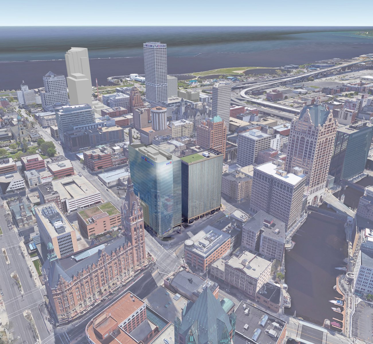 BMO Harris Tower Rendering