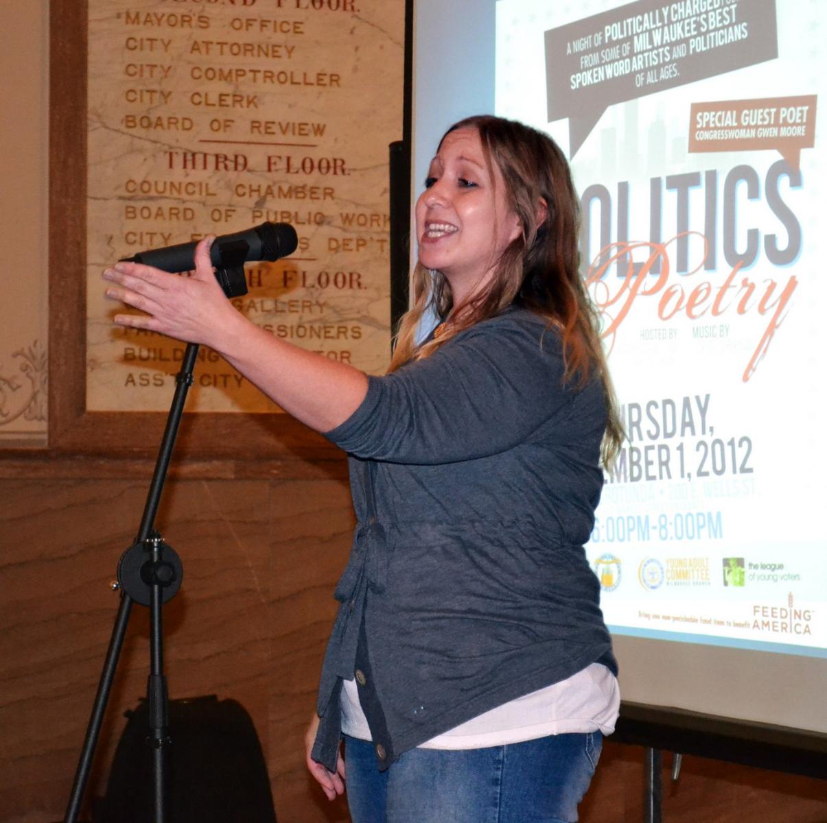 Spoken word artist and MPS teacher Darlin\' Nikki