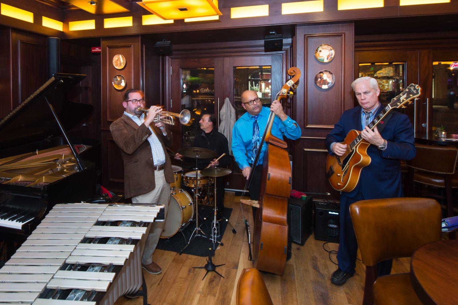 Band at the 10th Anniversary of Mason Street Grill