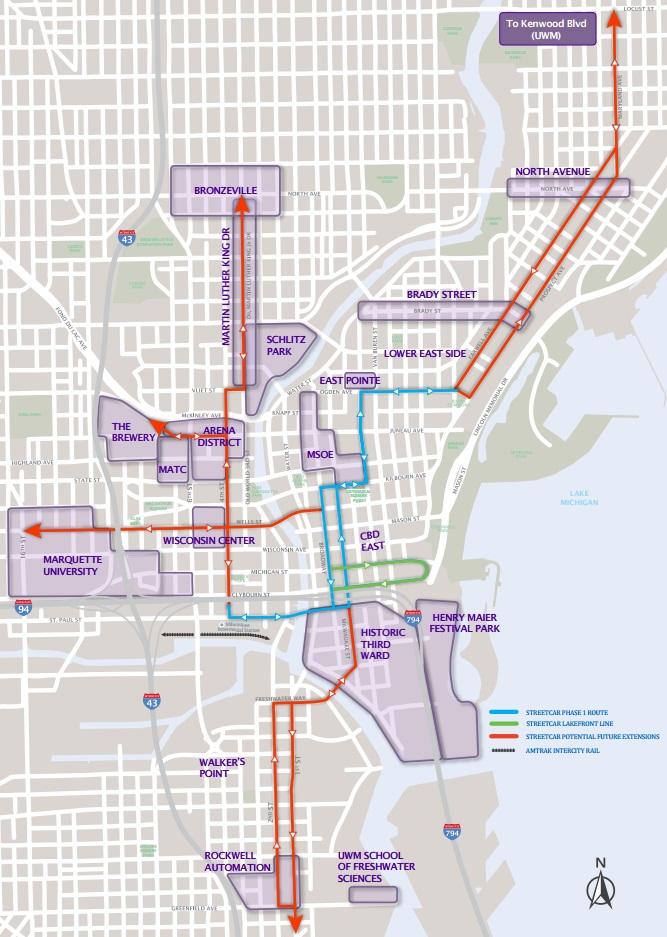 Eyes On Milwaukee 65 Million In Streetcar Savings
