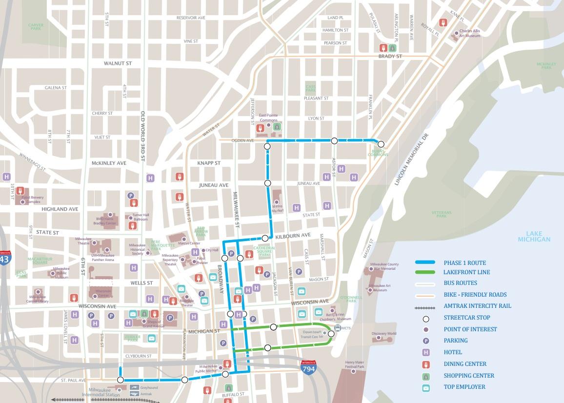 Eyes on Milwaukee 65 Million in Streetcar Savings Urban Milwaukee