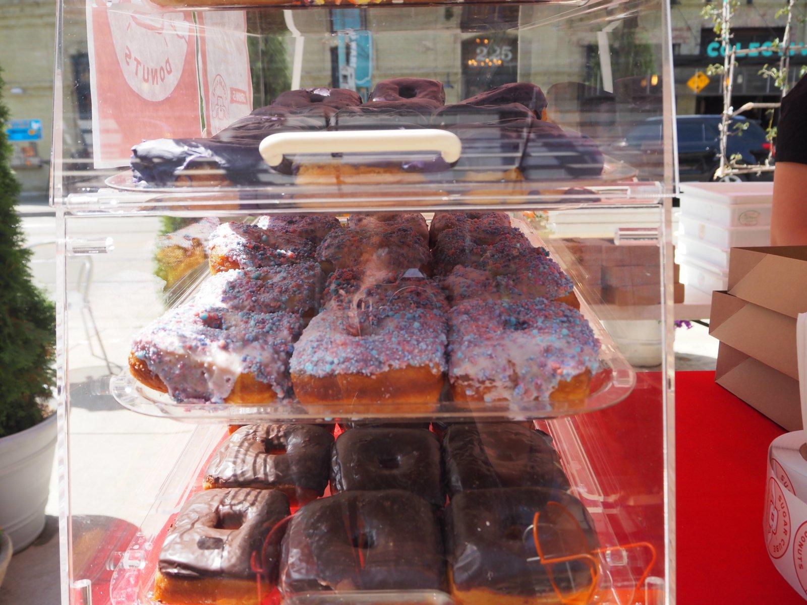 Sugar Cube Donuts