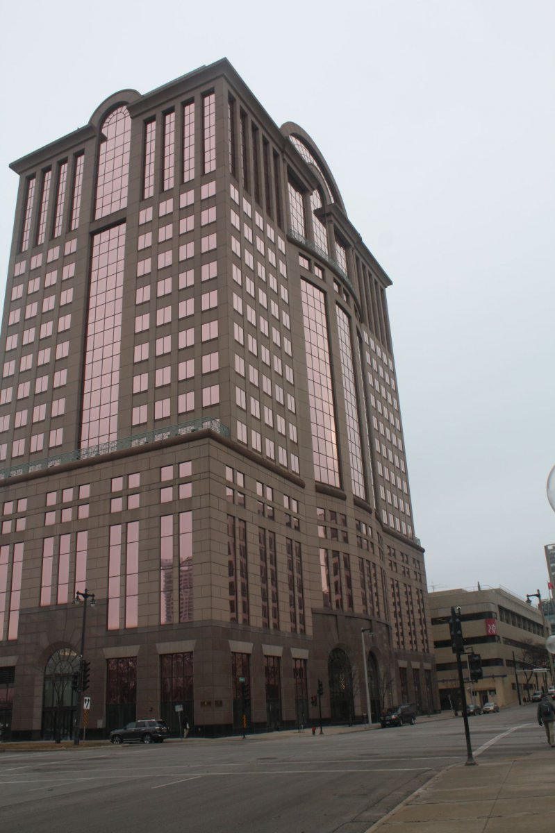 The 1000 N. Water Street Building is really on E. State Street.