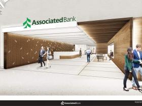 Associated Bank River Center Interior Rendering