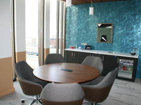 Small Client Meeting Room in Husch Blackwell Office