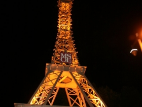 MSOE Eiffel Tower at Night