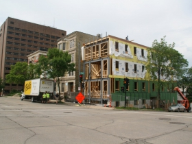 1245 N. Milwaukee St. Construction