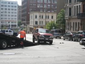 Car Crash on Mason