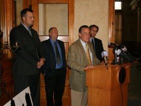 Anti-Streetcar Press Conference