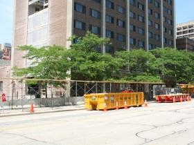 Roy W. Johnson Hall/Viets Tower Construction