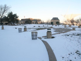 O'Donnell Park in Winter