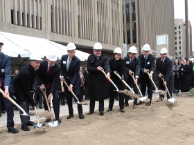 Tower Groundbreaking