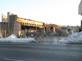 Downtown Transit Center Destruction