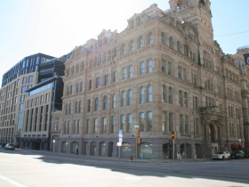 Huron and Mackie Buildings