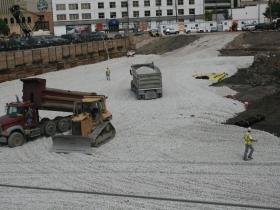 MSOE Parking Garage Construction