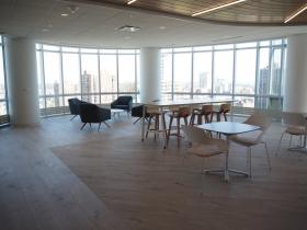 Employee Lounge at Johnson Financial Group