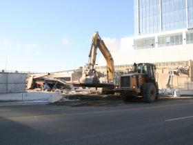 Downtown Transit Center Demolition