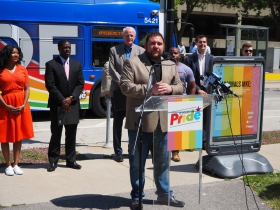 Milwaukee Pride President Wes Shaver