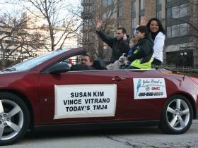 Susan Kim and Vince Vitrano
