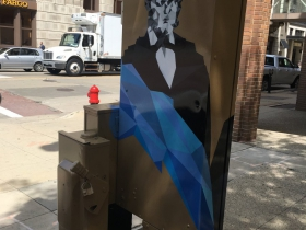 Utility Box Mural at 200 E. Wisconsin Ave.