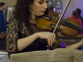 Ilana Setapen, Milwaukee Symphony Orchestra Violinist.