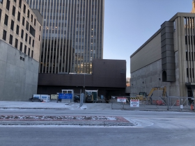 BMO Harris Parking Garage Demolition