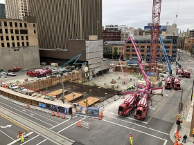 BMO Tower Concrete Pour