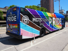 MCTS Rides with Pride Vehicle