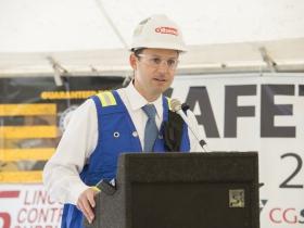 Adam R. Jelen, of Gilbane Building Co.