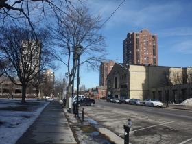Apartments along N. Jackson Street