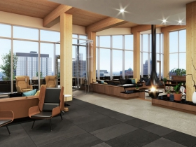 Ascent Club Room Rendering