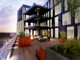 Balconies at Huron Building