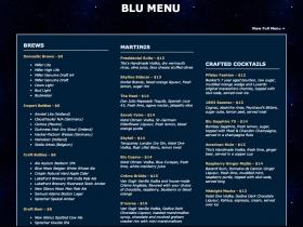 Blu Menu