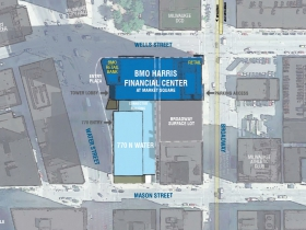 BMO Harris Financial Center Site Plan