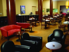 Cafe Metro before renovation. Photo courtesy of Hotel Metro.