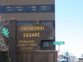 Cathedral Square on N. Jefferson Street