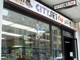 CITY.NET Café at 306 E. Wisconsin Ave. Photo by Peggy Schulz