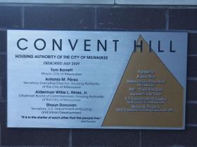 Convent Hill marker