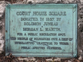 Courthouse Square marker
