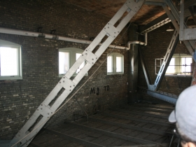 Interior of the tower.